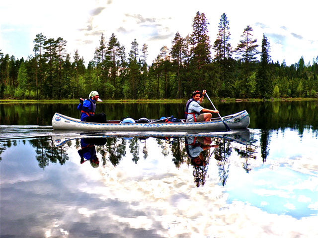 When to go canoeing or kayaking in Sweden and Finland