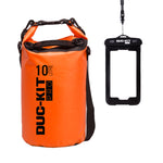 10 Litre Premium Dry Bag + Waterproof Smart Phone Case - Duc-Kit Pro