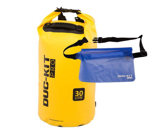 30 Litre Premium Dry Bag + Waterproof Pouch - Duc-Kit Pro