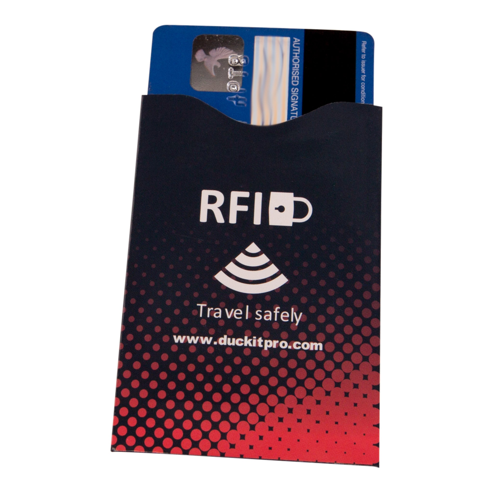 Waterproof Pouch + RFID Blocker Sleeves - Duc-Kit Pro