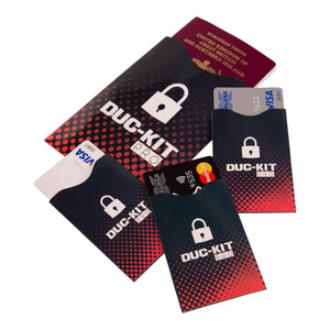 RFID Blocker Sleeves - Duc-Kit Pro