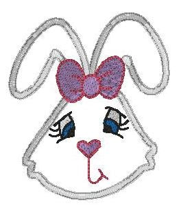 Bunny head - cartoon