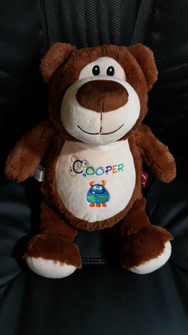 Cooper's brown bear