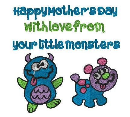 Mother's Day little monsters