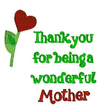 Mother's Day thank you