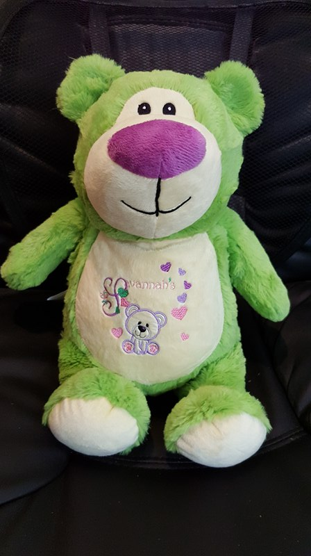 Savannah's lime bear
