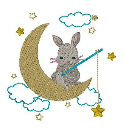 Wish upon a star bunny
