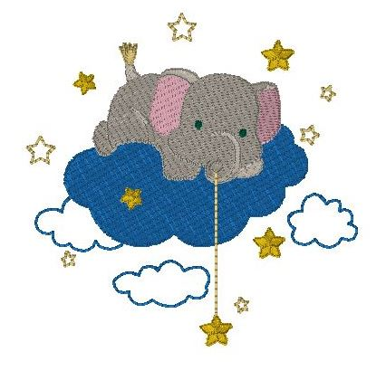 Wish upon a star elephant