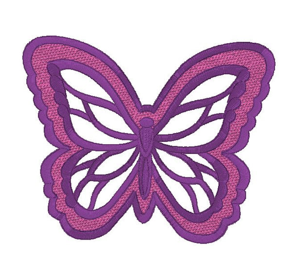 Butterfly - embossed