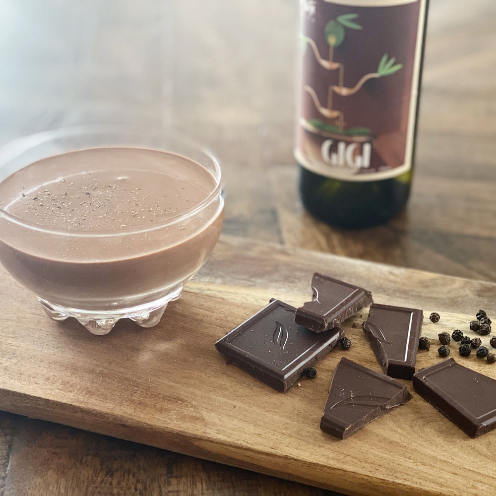 EVOO Chocolate Mousse