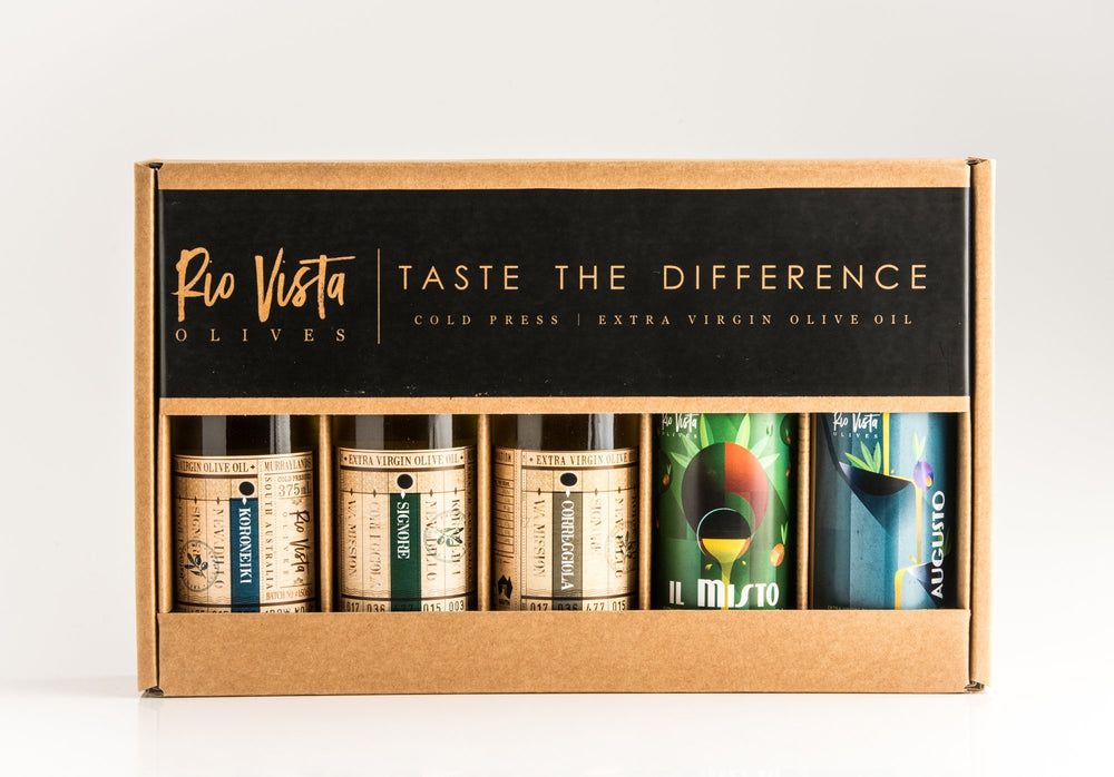 Rio Vista Olives Sampler Box 2020