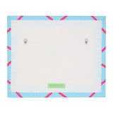 Blue / Neon Orange Ribbon Memo Ribbon Board