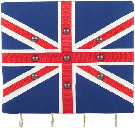 Hook & Hang - Union Jack Key Holder