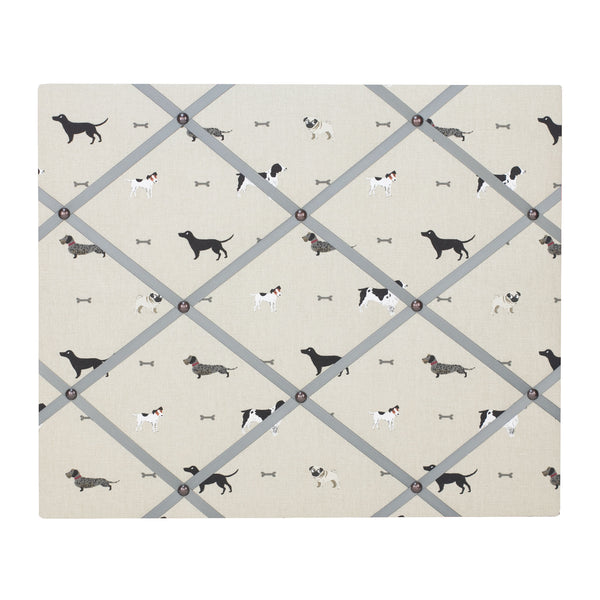 Dogs Ribbon Memo Board