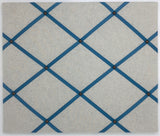 Soft Grey / French Blue Ribbon Memo Board
