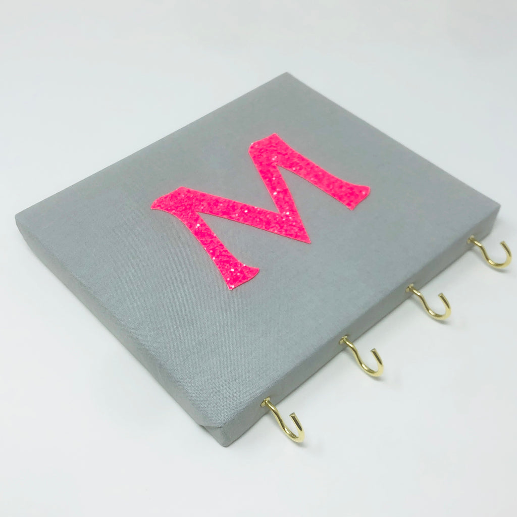 Personalised Initial Board - Silver Grey