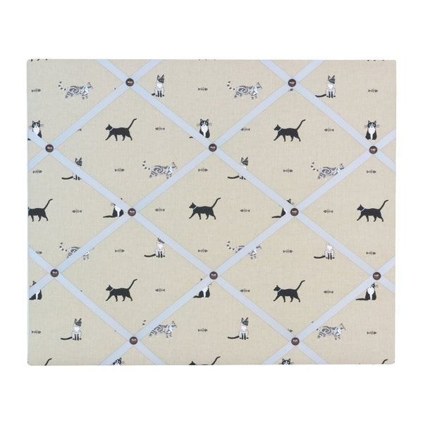 Cats Ribbon Memo Board