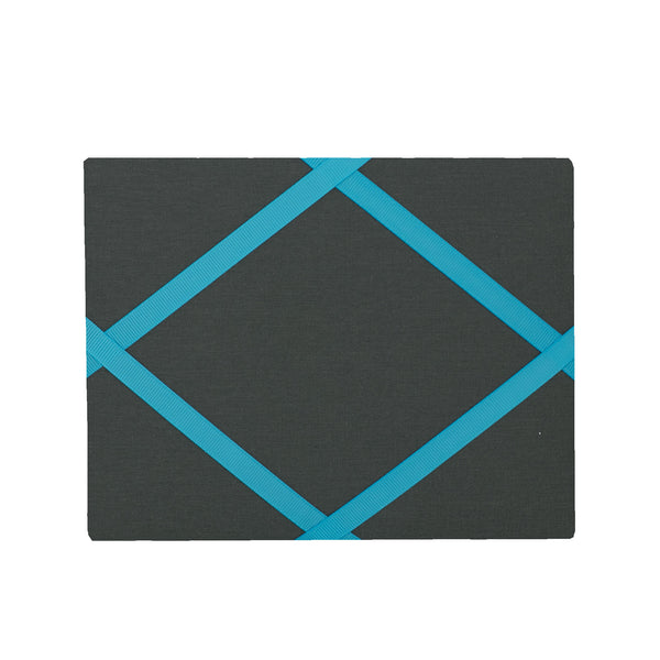Charcoal Grey / Turquoise Magnetic Photo Frame
