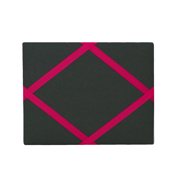 Charcoal Grey / Pink Magnetic Photo Frame