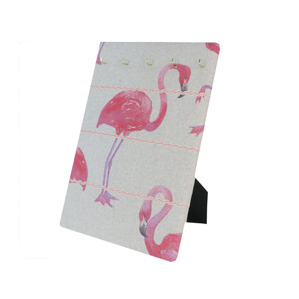 Hook & Hang Jewellery Board - Flamingo