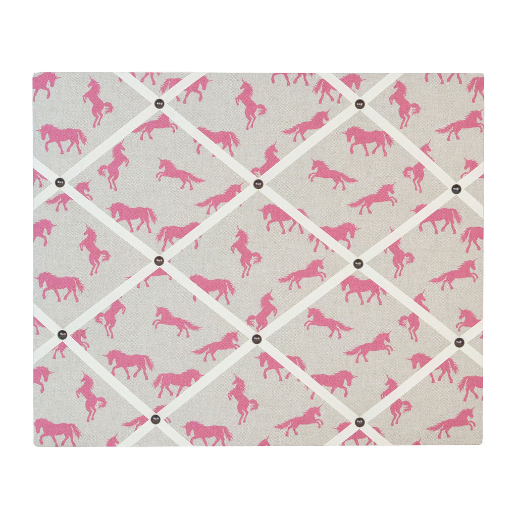 Unicorns Ribbon Memo Board