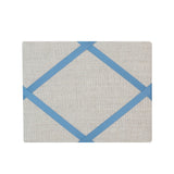 Freestanding Photo Frame - Linen / French Blue Ribbon