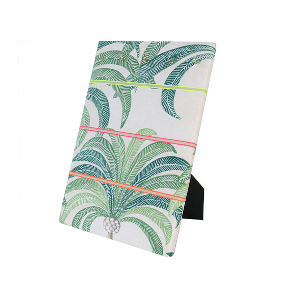 Hook & Hang Jewellery Board - Palm Tree / Neon Ribbon