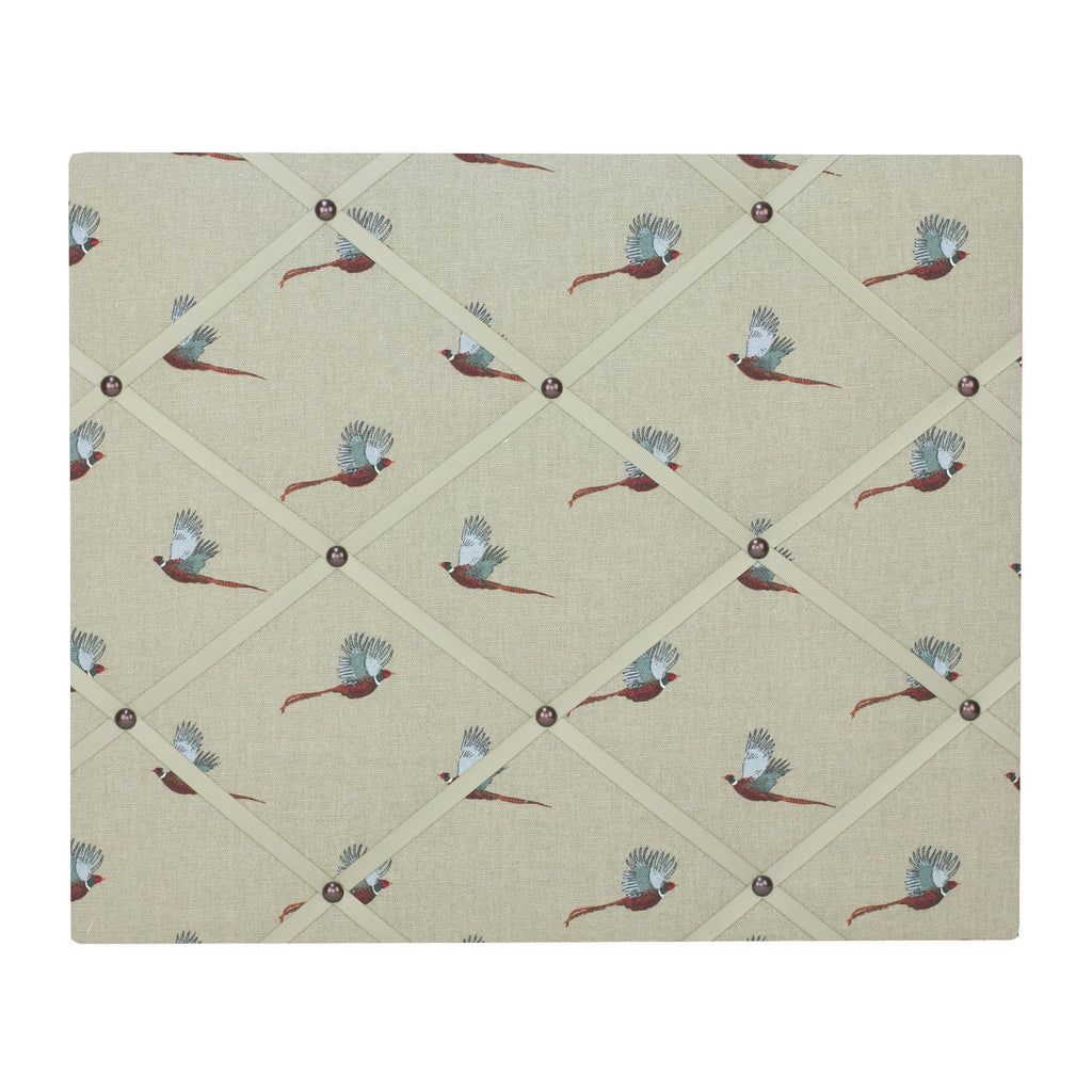 Pheasant Ribbon Memo Board