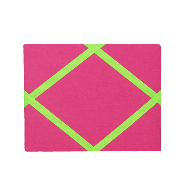 Pink / Neon Yellow Magnetic Photo Frame