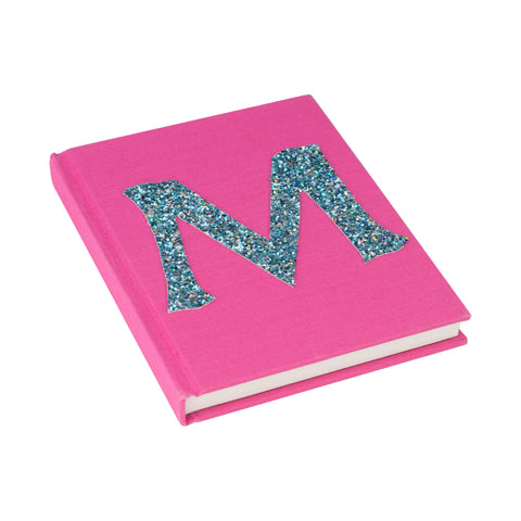 Pink Alphabet Personalised Notebook