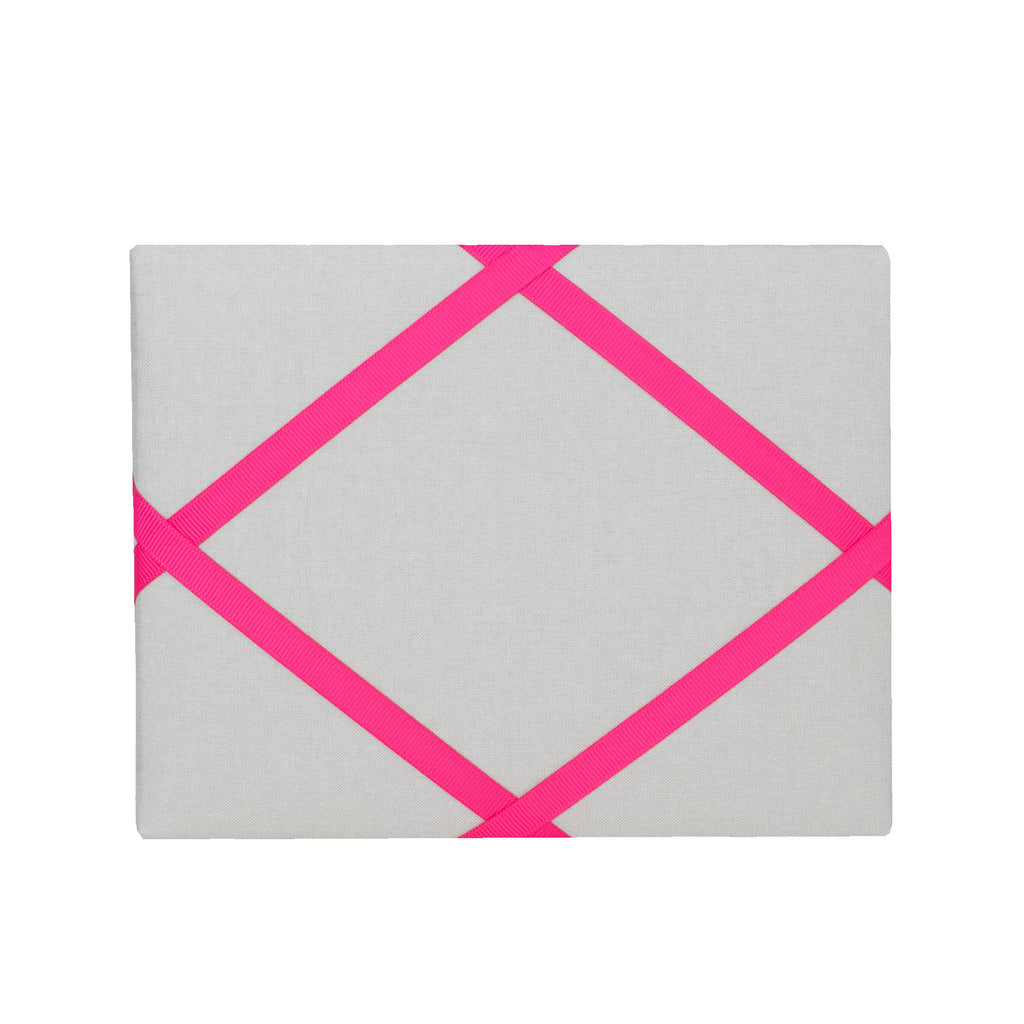 Silver / Pink Magnetic Photo Frame
