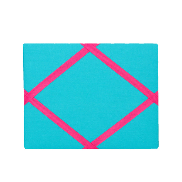 Turquoise / Pink Magnetic Photo Frame