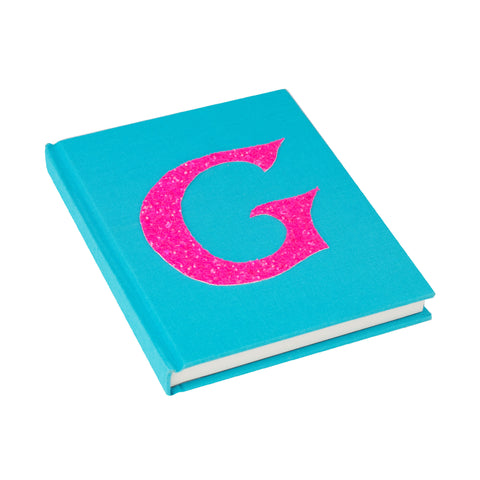 Turquoise Personalised Alphabet Notebook