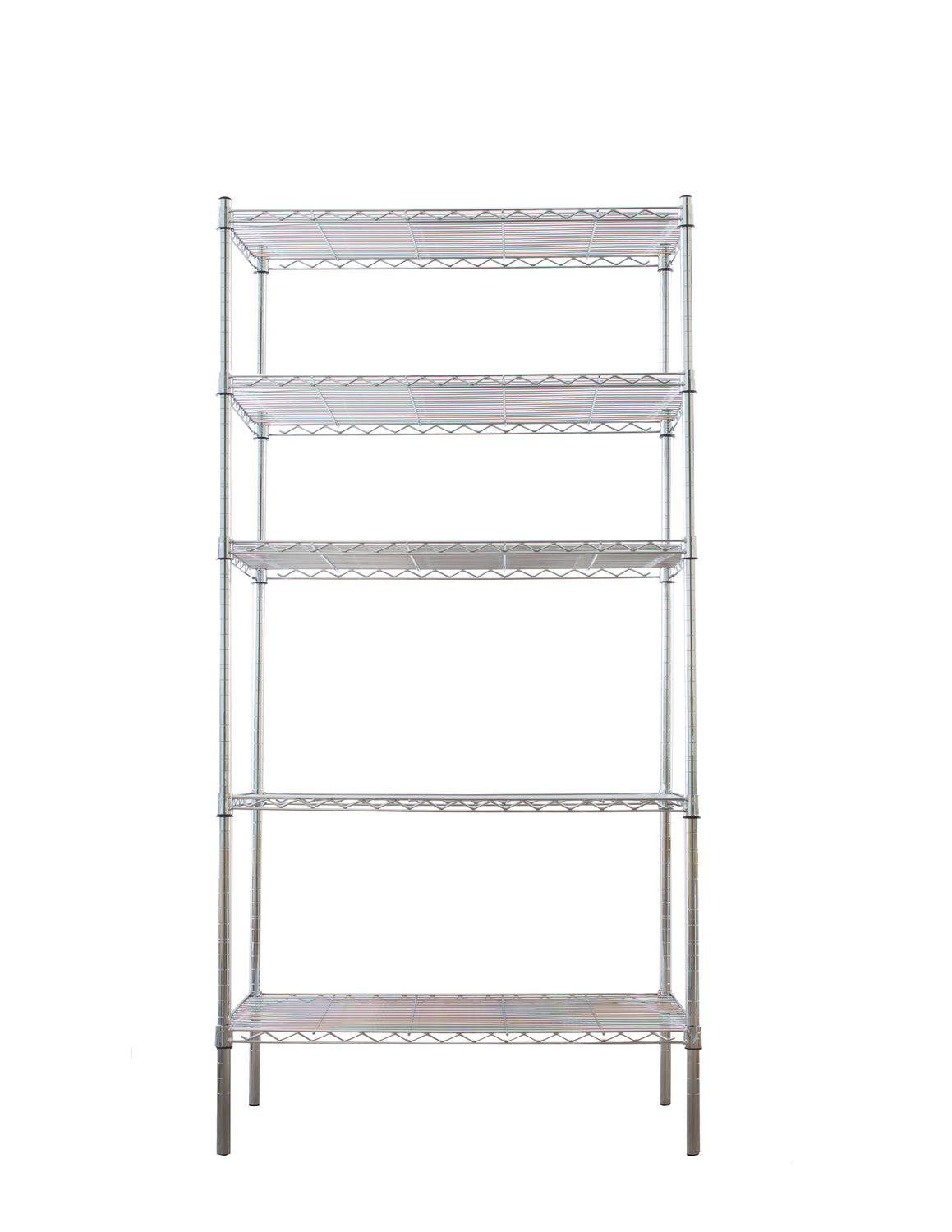 Chrome coated mild steel shelf - extra large