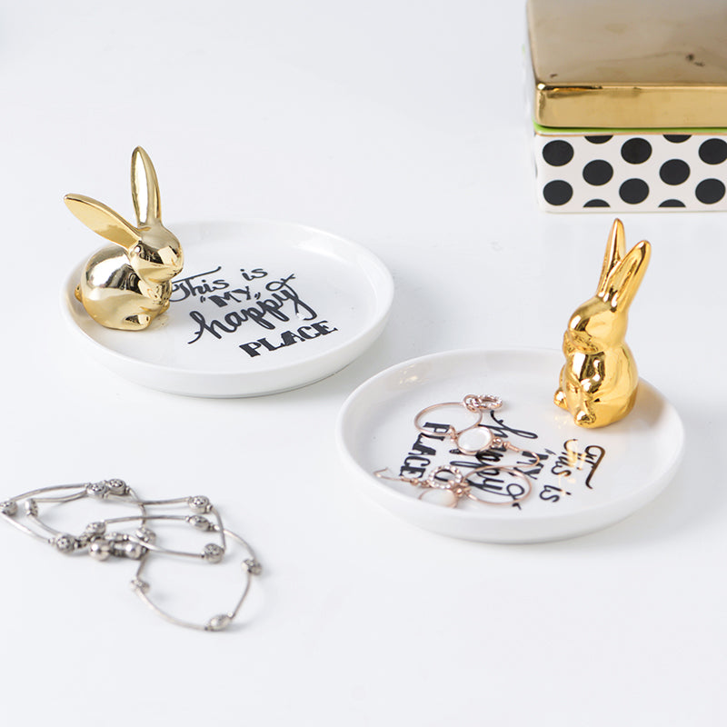 Accessory Tray - Sitting Rabbit