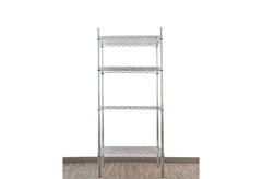 Chrome coated mild steel shelf - Medium