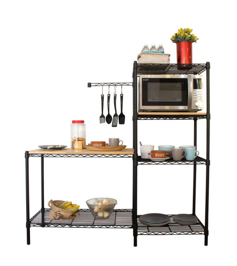 Epoxy Black Coated Cooking Station Kits
