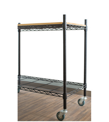 Epoxy Black Kitchen trolley