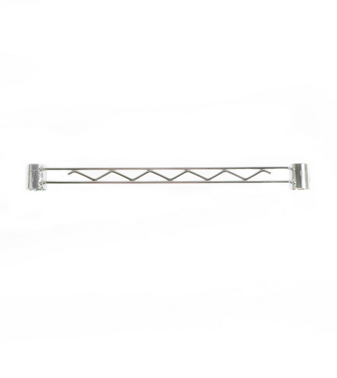 Chrome coated support bar - Small