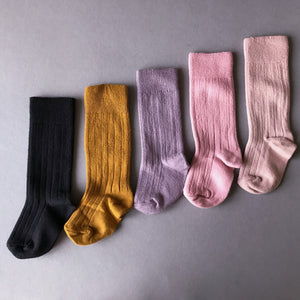 High Knee Collégien Egyptian cotton socks