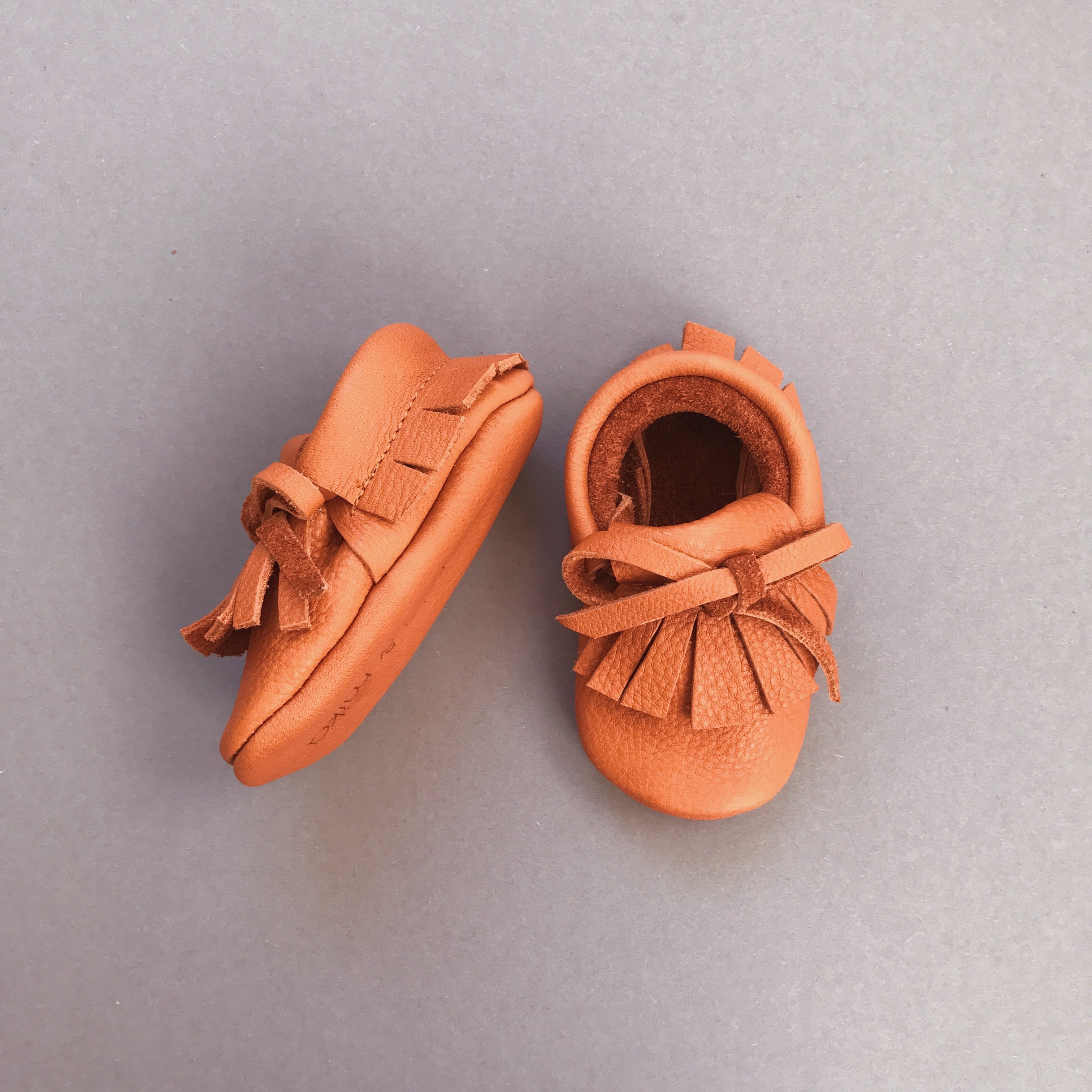 NICO BABY MOCCASINS BROWN