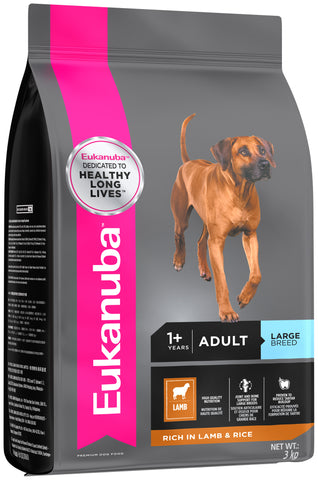 Eukanuba Adult Food - Small / Medium (Lamb & Rice)