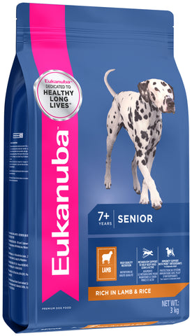 Eukanuba Mature & Senior Food - Lamb & Rice
