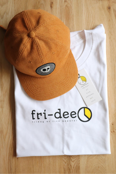 """Fri-dee"" Tee - White"