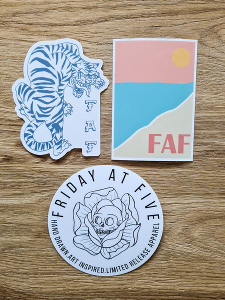 FAF Sticker pack