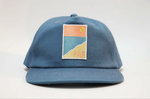 ~ Cable Beach ~ Five panel full custom semi structured snapback