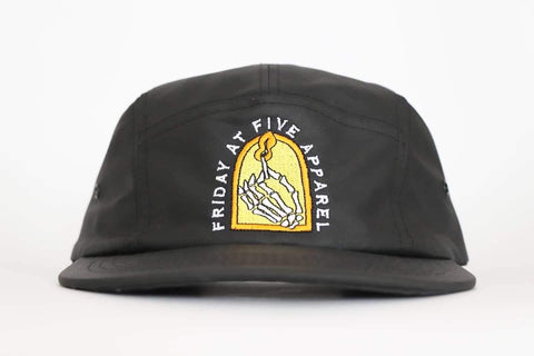 'Stay Lit' - five panel hat