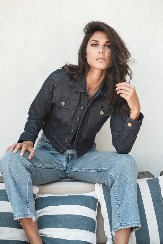 Women's Stretch Denim Jackets - Hanalei Swan Styles