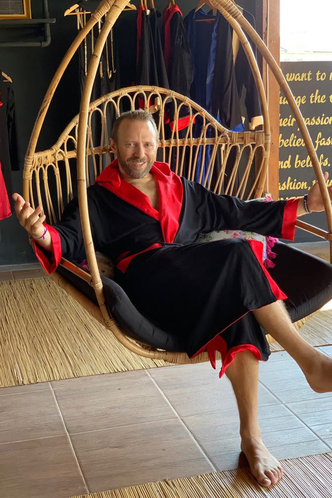 The Entrepreneur Robe - Hanalei Swan Styles