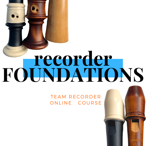 Online Course 'Recorder Foundations'